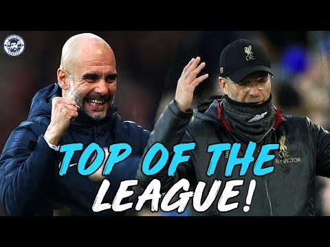 MAN CITY ARE TOP OF THE LEAGUE! ARE LIVERPOOL BOTTLING IT?