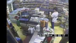 Mobile Phone Theft at a Makati, Philippines Convenience Store (March 6, 2014) II