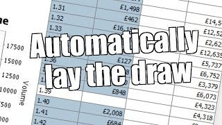 Betfair trading bot - Lay the draw strategy