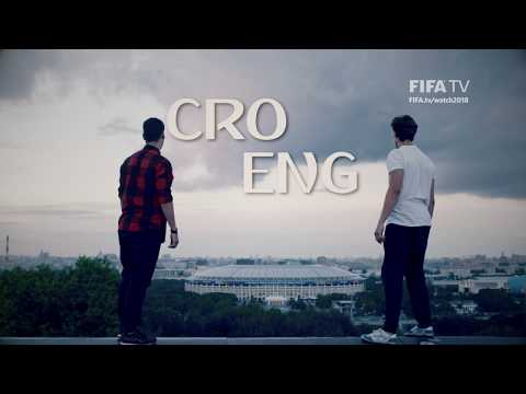 Croatia v England - Who will join France in the Final?