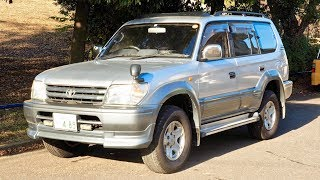 1996 Land Cruiser Prado TX 8-seater (Canada Import) Japan Auction Purchase Review