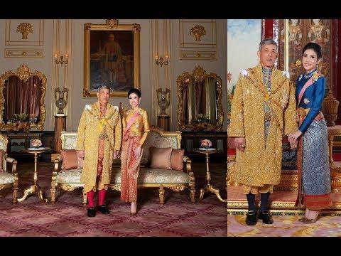 สำนักพระราชวังเผยภาพพระราชทาน &39;พระบาทสมเด็จพระเจ้าอยู่หัวฯเจ้าคุณพระสินีนาฏ&39;