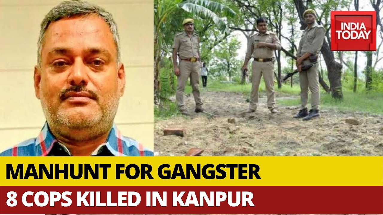 Vikas Dubey, top crime suspect in deaths of 8 Indian police officers ...