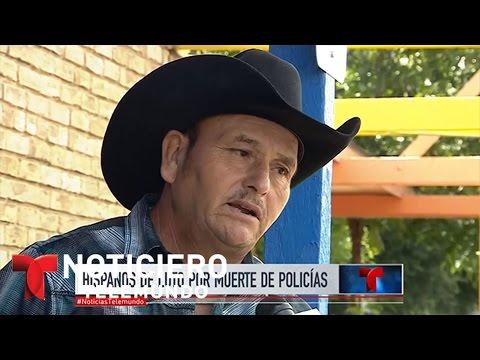 Los hispanos de Dallas de luto por la matanza | Noticiero | Noticias Telemundo