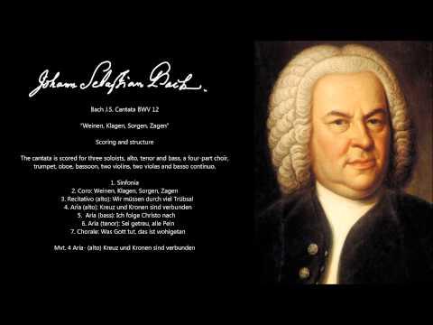Bach J.S. Cantata BWV 12