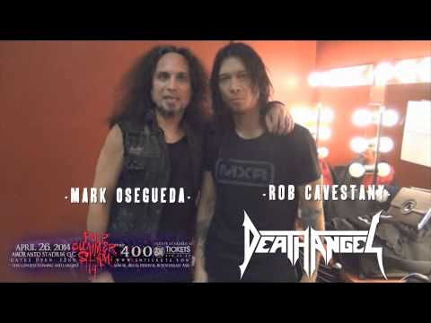 A Message from Death Angel to the Philippines