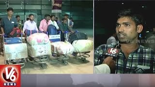 Nine persons, who were stranded in Kuwait and were being offered he...