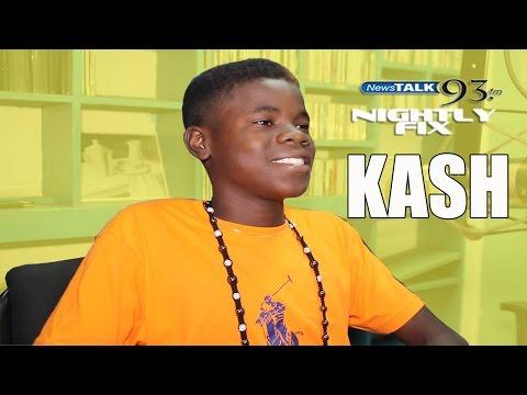You Heard It Here 1st: 14 yr old singer Kash @NightlyFix