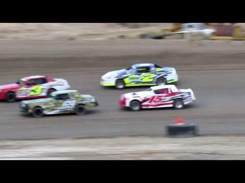 Desert Thunder Raceway I.M.C.A Stock Car Heat Races 4/27/18