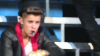 Justin Bieber She Don't Like The Lights- San Jose 6/26/13 HD