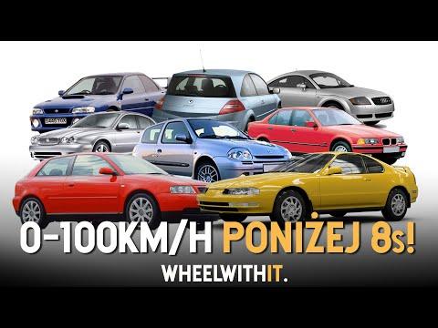 10 najtańszych aut przyspieszających do 100 km/h poniżej 8 SEKUND!