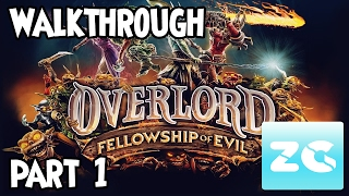 Overlord Fellowship of Evil (Xbox One/PS4/Pc Steam) Walkthrough - Part 1 Gameplay HD