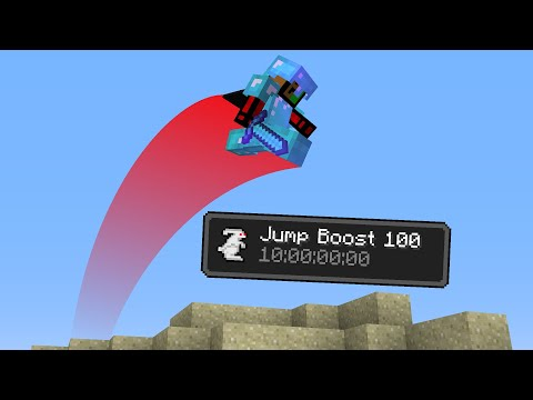 Minecraft UHC But Everyone Has Jump Boost 100...