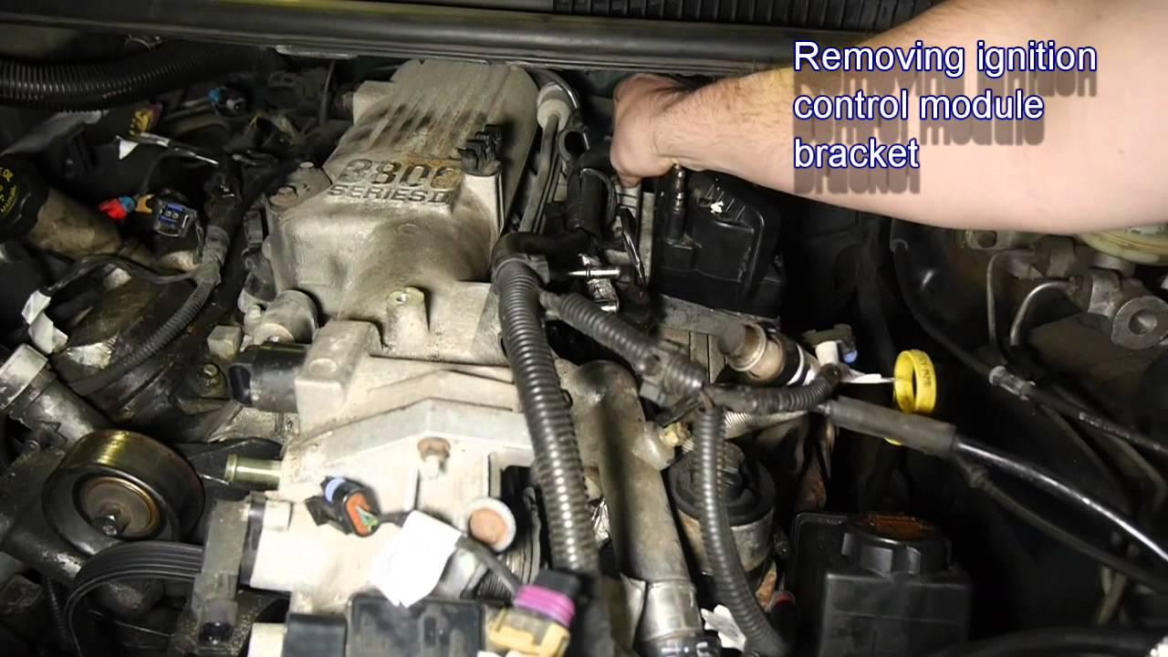 Removing Intake Manifold Gasket  97 Firebird 38l v6  YouTube