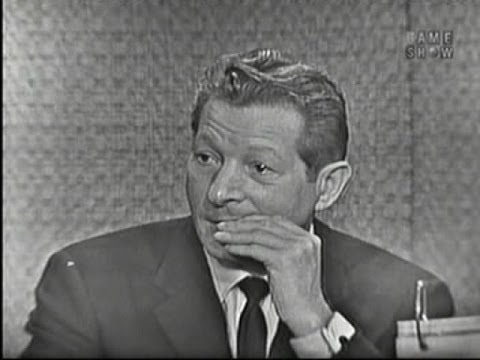 What's My Line?  Danny Kaye; Tony Randall panel Oct 16, 1960