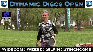 ARP | Dynamic Discs Open | FPO Feat. Card | Widboom : Weese : Gilpin : Stinchcomb | R1 F9
