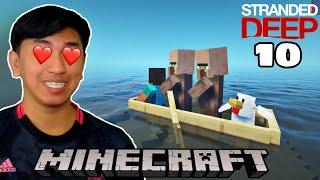 ទីបំផុត ខ្ញុំរកឃើញ Jack និង Rose ហើយ!!! 😍 | Minecraft Stranded Deep Part 10