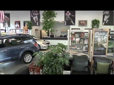 Patriot Subaru Saco Maine Green Dealership Tour