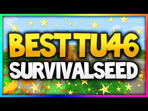Minecraft (Xbox 360/PS3) BEST TU46 SURVIVAL SEED - AMAZING SEED!