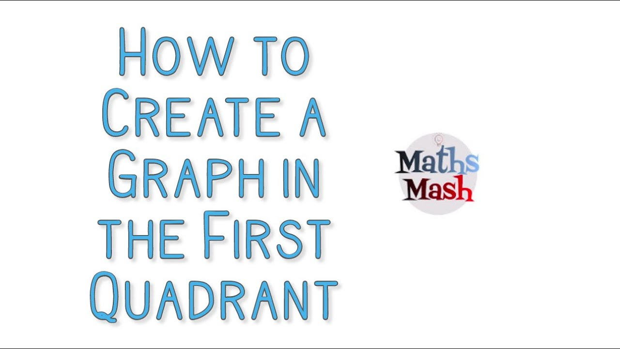 Use X And Y Coordinates On A Graph In The First Quadrant