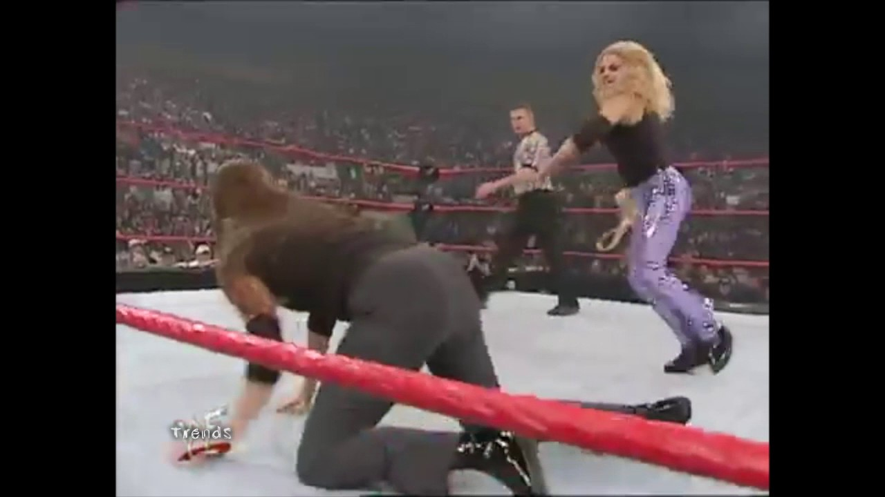Download Trish Stratus Vs Stephanie Mcmahon Wipping Match