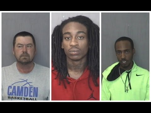 Three men arrested after shots fired in Camden County