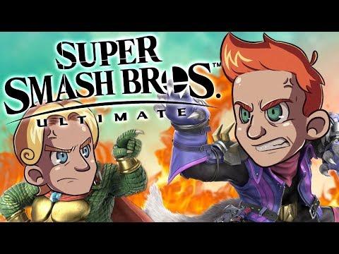 Tajutonta Taistelua!   Super Smash Bros Ultimate thumbnail