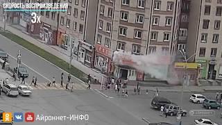Фото Пожар. г. Северобайкальск. Центр магазин ДНС 27.07.2017 качество 2К