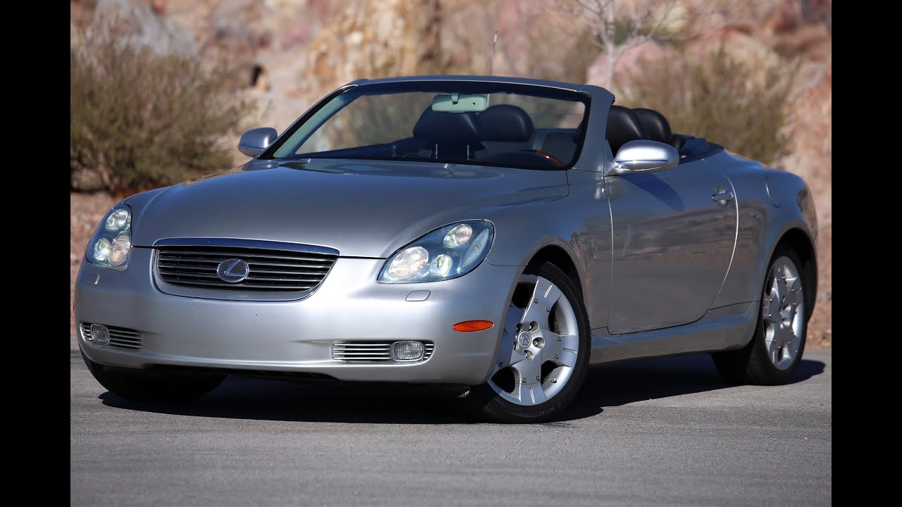 2002 Lexus Sc430 Convertible Test Drive Viva Las Vegas Autos You