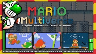 New Super Mario Maker Type Game   Mario Multiverse!   BTG