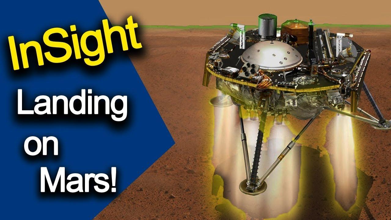 try landing insight on mars - photo #35