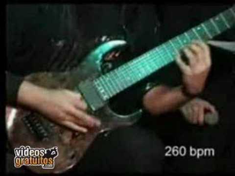 Record velocidad tocando la guitarra