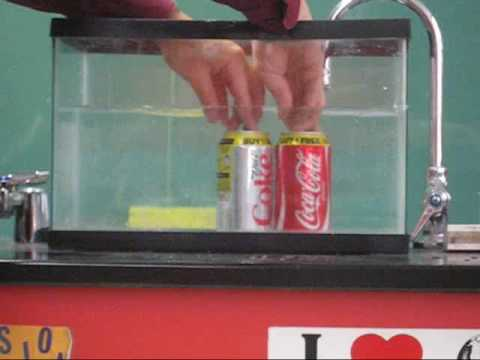 The Great Soda Density Experiment