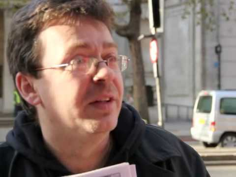 Mark Thomas - Socialist Workers Party - Interview