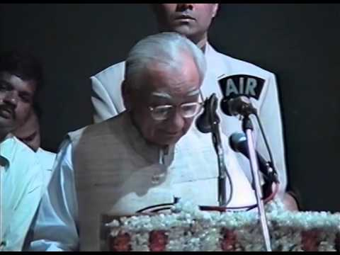 Krishan Kant - Chief Guest, Jamnalal Bajaj Awards 2000