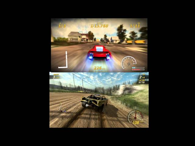 FlatOut 3 vs FlatOut UC [Comparison] (1080p)