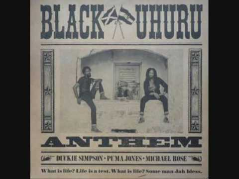 Black Uhuru - Anthem - 1983(Full)