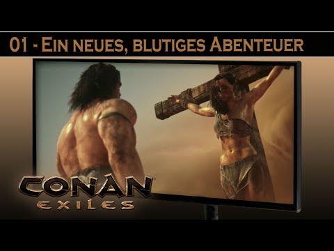 Conan Exiles - #1 Ein Neues Abenteuer ⚔ Conan Exiles German Gameplay Deutsch
