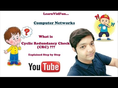 CRC (Cyclic Redundancy Check) Explained Step by Step (Part-1) (My First Video)