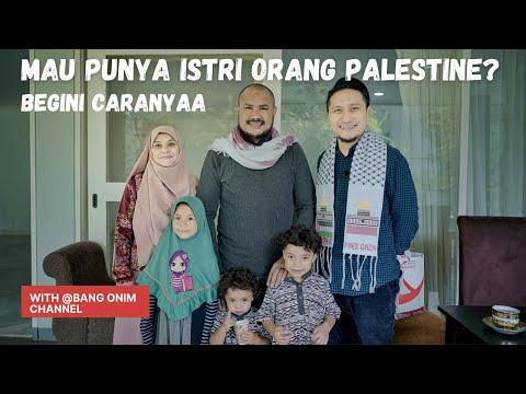 MAU PUNYA ISTRI ORANG PALESTINA? BEGINI CARANYA (interview with Bang Onim)