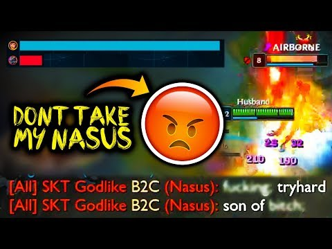 THIS IS WHAT HAPPENS WHEN YOU TAKE MY NASUS 😡⚠️