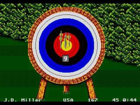 1992 Summer Olympics in Barcelona (Sega Genesis Games)