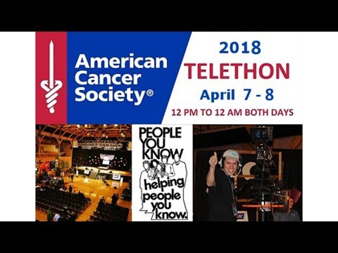American Cancer Society Telethon 2018 Sunday