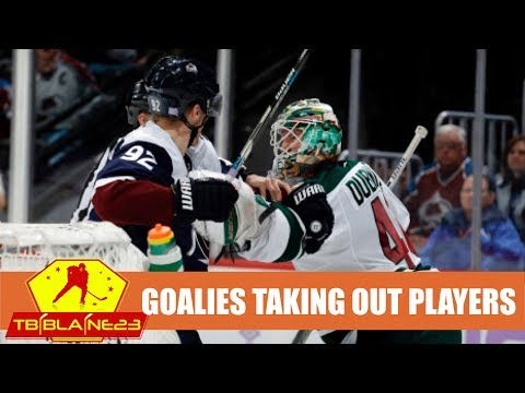 Goalies Taking Out Players Pt. 2