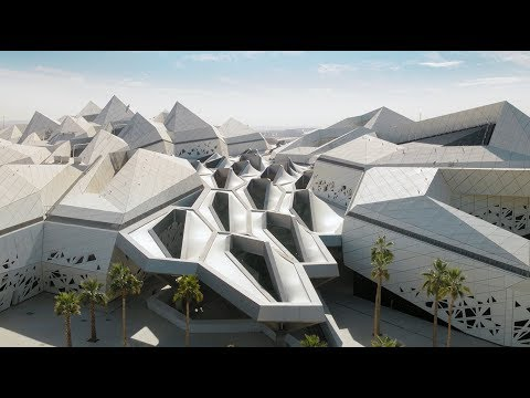 Zaha Hadid Architects' King Abdullah Petroleum Studies and Research Center