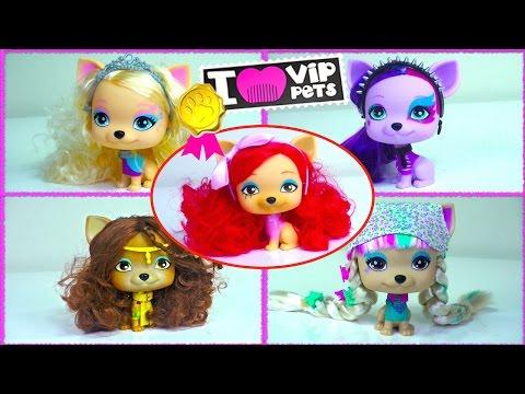 I 💗 VIP Pets Nyla, Alice, April, Princess Scarlett, Juliet by IMC Toys - Kids' Toys