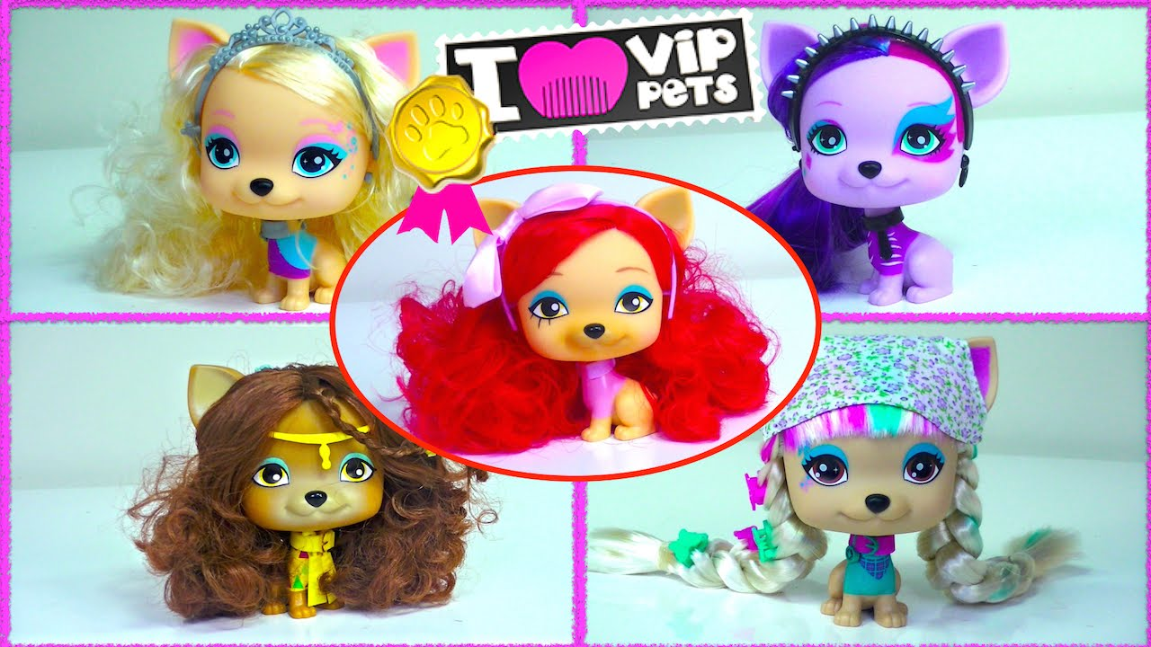 I Vip Pets Nyla Alice April Princess Scarlett Juliet By Imc Toys Kids Toys Youtube