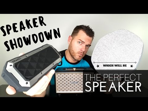 New Bluetooth Speakers 2017 | Speaker Face OFF | Tewell