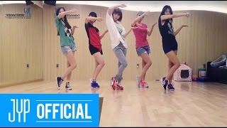 "Wonder Girls ""Like Money"" Dance Practice"