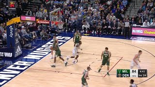 3rd Quarter, One Box Video: Denver Nuggets vs. Milwaukee Bucks